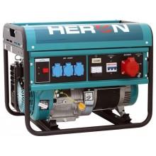 HERON EGM 60 AVR-3 elektrocentrála benzínová 13HP / 6,0KW (400V) / 2,2kW (230V) 8896112