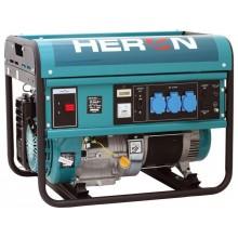 HERON EGM 55 AVR-1 elektrocentrála benzínová 13HP / 5,5KW, pro svařování