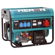 HERON EGM 60 AVR-3E elektrocentrála benzínová 13HP / 6,0KW (400V) / 2,2kW (230V) 8896114