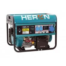 HERON EGM 65 AVR-1E elektrocentrála benzínová 15HP / 6,5KW 8896121