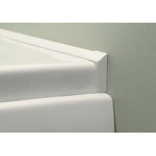 VÝPRODEJ POLYSAN Vanová lišta 2x1950mm, 2xroh, 2xukončení 91020, BEZ ROHŮ A UKONČENÍ