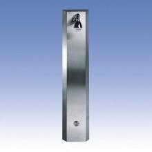 SANELA Nerezový sprchový panel SLSN 01PB integr.piezo ovládání,1 voda,bateriové nap. 92019