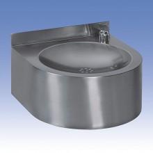 SANELA Nerezová pitná fontánka SLUN 62E s automaticky ovládaným výtokem 93621
