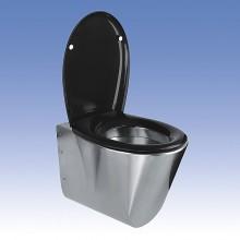 SANELA Nerezové závěsné WC SLWN 04 94040