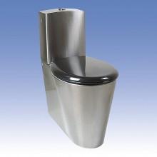SANELA Nerezové kombi WC SLWN 16 pro tělesně handicapované, spodní přívod vody 94160
