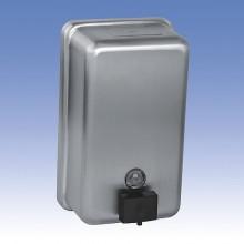 SANELA Nerezový dávkovač tekutého mýdla SLZN 39 obsah 1,2 l, matný 95390