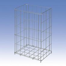 SANELA Drátěný koš SLZN 41, rozměr 350 x 290 x 150 mm, nerez 95410