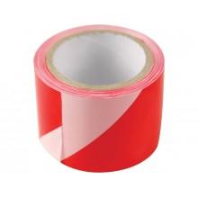 EXTOL CRAFT páska výstražná červeno-bílá, 75mm x 100m 9565