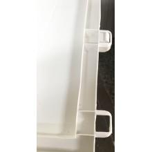 VÝPRODEJ KIS KARISMA 200L skladovací box 119x40x59cm bílá/šedá MÍRNĚ POŠKOZENÝ!!!