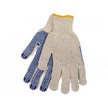 """Rukavice polyester s PVC terčíky na dlani, velikost 10"""" 9978"""