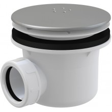 ALCAPLAST Sifón vaničkový kov A49K mat 90 chrom