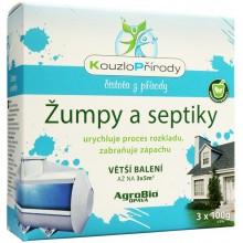 AgroBio Kouzlo Přírody Žumpy a septiky 3x10