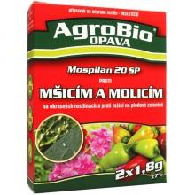 AgroBio Mospilan 20 SP PROTI mšicím a molicím 2x1,8 g