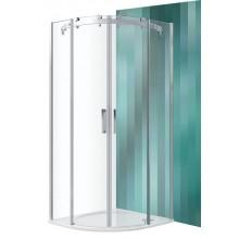 Roltechnik Sprchový kout čtvrtkruhový AMR2N/900 brillant / transparent