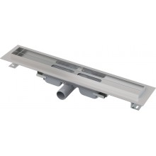 ALCAPLAST Professional Low Podlahový žlab s okrajem pro plný rošt APZ106-650