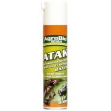 AgroBio ATAK Aerosol letající a lezoucí hmyz Extra 400 ml 002118