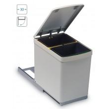 ALVEUS Albio 10 odpadkový koš 2 x 7,5l