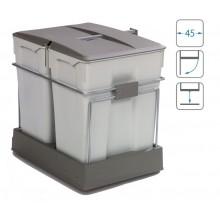 ALVEUS Albio 40 odpadkový koš 2 x 30 litrů