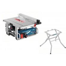 BOSCH GTS 10 J Stolní okružní pila + GTA 600 transportní pracovní stůl 0615990DM4
