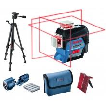 BOSCH GLL 3-80 C Liniový laser + BT 150 Stavební stativ 0601063R01
