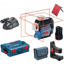 BOSCH GLL 3-80 C Liniový laser + BM 1 Univerzální držák 0601063R02