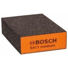 BOSCH Best for Flat and Edge Brusná houba, 68 x 97 x 27 mm, střední 2608608225