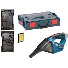 BOSCH GAS 12 V-LI Professional Aku vysavač, bez akumulátoru + L-BOXX 0.601.9E3.001