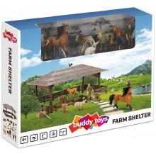 BUDDY TOYS BGA 1021 Farma - přístřešek 57000902