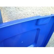 VÝPRODEJ Popelnice G21 GA-240 L , modrá, poškozené víko R_639089