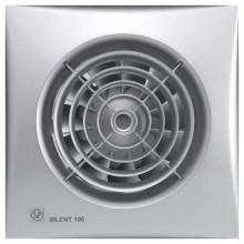 SILENT 100 CZ silver ventilátor 01883925
