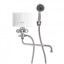 CLAGE Ohřívač vody M7/BGU 6,5W/400V + sprchovací baterie kombi 1500-17317