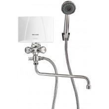 CLAGE Ohřívač vody M6/BGU 5,7W/230V + sprchovací baterie kombi 1500-17316