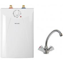 CLAGE S5-U+SNT Ohřívač vody se zásobníkem. pod umyvadlo 2,0kW/230V, s ventilovou armaturou 4100-42056