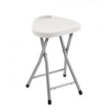 AQUALINE CO75 Koupelnová stolička 30x46,5x29,3 cm, bílá