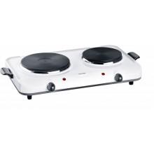 CONCEPT VE-3020 Elektrický dvouplotýnkový vařič smaltový 2250 W MAESTRO ve3020