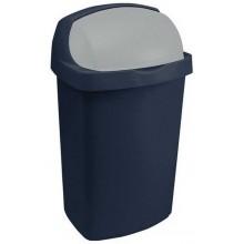 CURVER Odpadkový koš ROLL TOP, 40,7 x 30,6 x 72,7 cm, 50 l, modrá, 03977-266