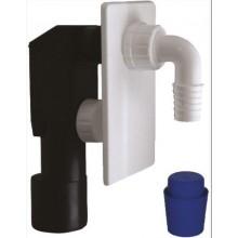 SAPHO podomítkový pračkový sifon 40/50mm, plast CV1023