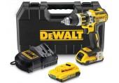 DeWALT Aku Bezuhlíková příklepová vrtačka 2 X 2,0AH Baterie XR LI-ION DCD795D2