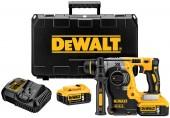 DeWALT Aku bezuhlíkové kombinované kladivo SDS-Plus 18V XR 5.0Ah DCH273P2