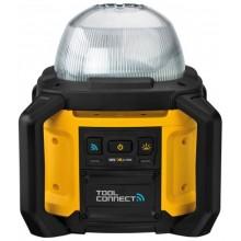 DeWALT Pracovní Aku LED světlo 18V XR, Bluetooth, samostatné osvětlení DCL074