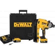 DeWALT Aku hřebíkovačka 18V do betonu v kufříku, 2 x 5,0 Ah DCN890P2