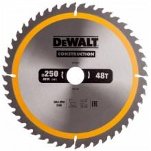DeWALT DT1957 Pilový kotouč CONSTRUCTION 250 x 30 mm, 48 zubů