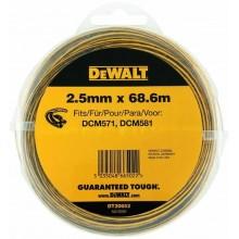 DeWALT náhradní struna 2,5 mm x 68,6 m DT20652