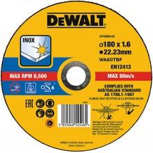 DeWalt Řezný kotouč na nerez 180 mm, 1,6 mm DT43908