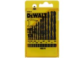 DeWALT 13-ti dílná sada vrtáků do kovu HSS-R DIN 338 DT5912
