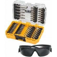 DeWALT Sada bitů a pracovních brýlí, 47 ks DT70703
