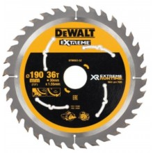 DeWALT Pilový kotouč XR EXTREME RUNTIME 190x30 mm 36 zubů, ideální pro pily FLEXVOLT DT99563