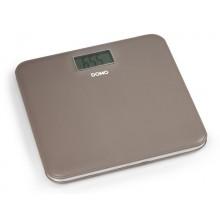 DOMO Stylová osobní váha hnědá DO9160W