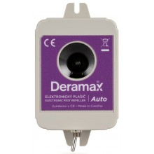 Deramax-Auto Ultrazvukový odpuzovač - plašič kun a hlodavců do auta 0210