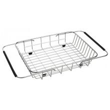 SAPHO Nerezový košík ke dřezům 25x44 cm, EP100